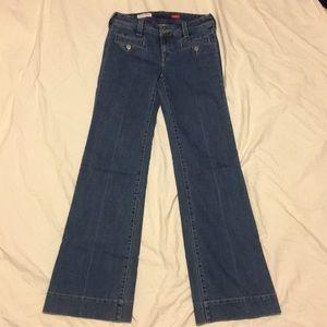 Anthropologie Pilcro wide leg jeans, like new!!